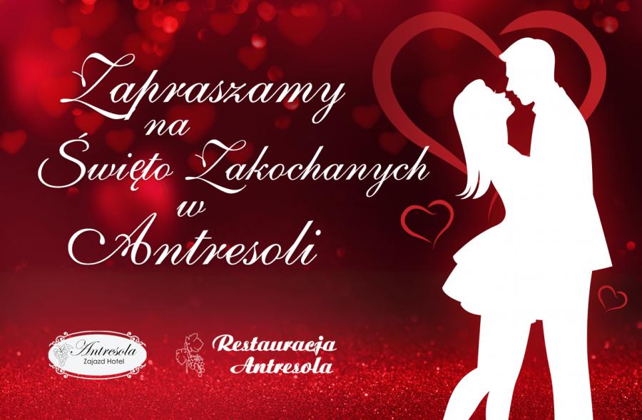 Święto Zakochanych w Antresoli 14.02.2019-17.02.2019